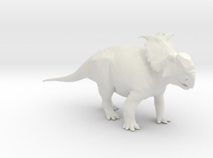 Pachyrhinosaurus canadensis - Alert Male 1/40 3d printed