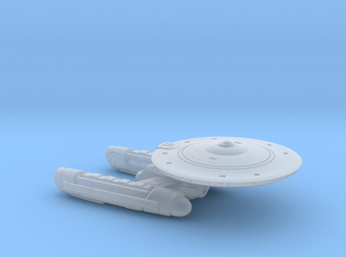 Terran Light Cruiser II - 1:7000 3d printed