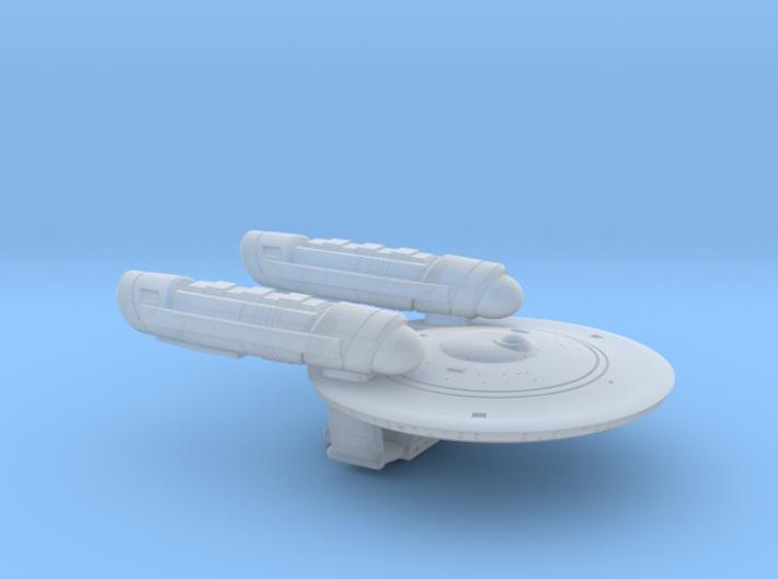 Terran Shepard Class Strike Cruiser - 1:7000 3d printed