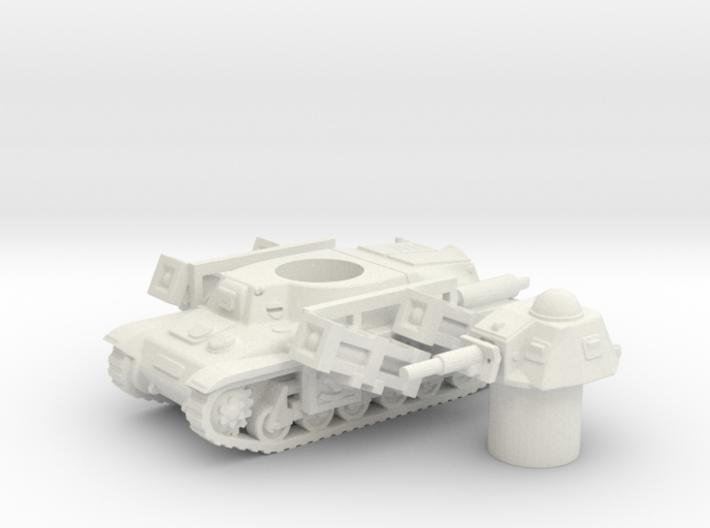 Hotchkiss tank-rockets (French) 1/100 3d printed