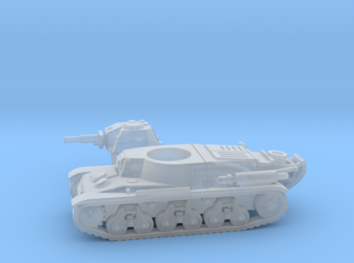 Hotchkiss tank (French) 1/200 3d printed