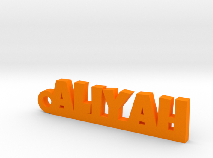 ALIYAH Keychain Lucky 3d printed