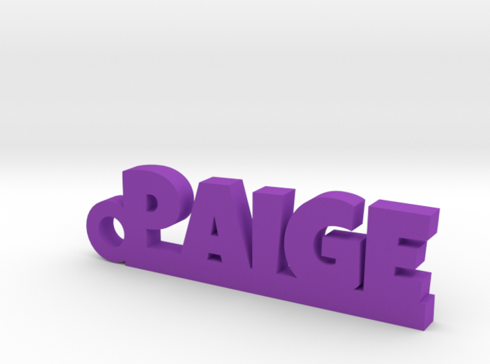 PAIGE Keychain Lucky 3d printed