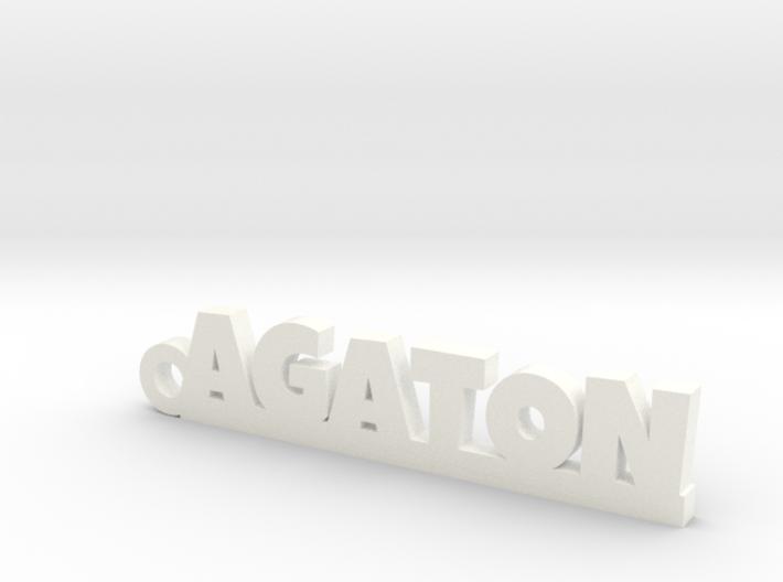 AGATON Keychain Lucky 3d printed