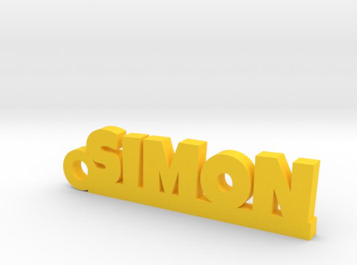 SIMON Keychain Lucky 3d printed