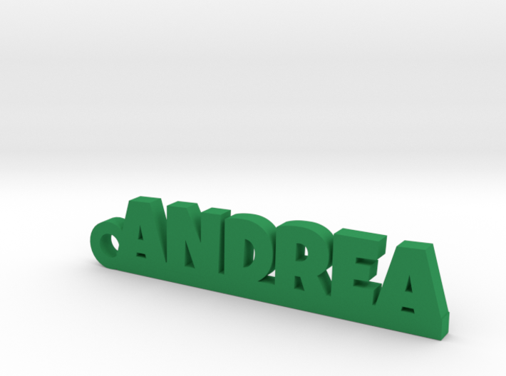 ANDREA Keychain Lucky 3d printed