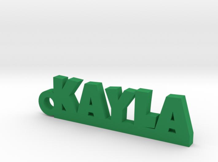 KAYLA Keychain Lucky 3d printed