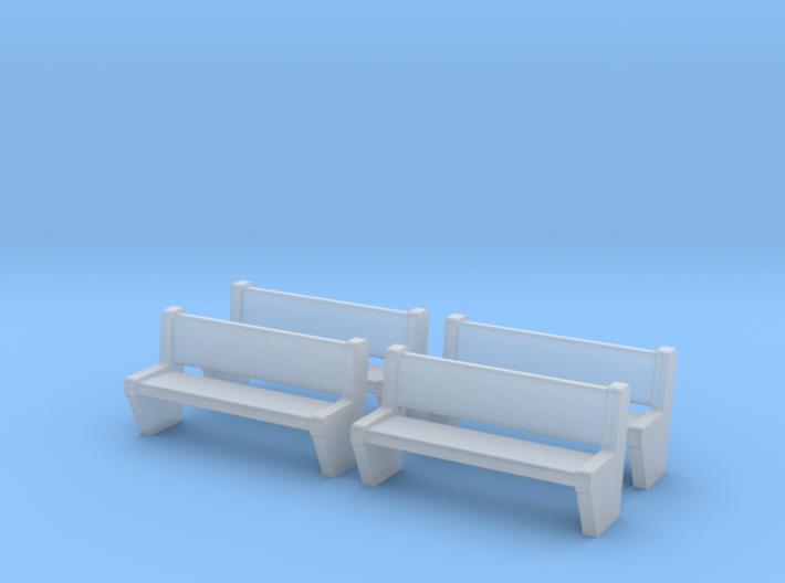 TJ-H04554x4 - bancs de quai en béton 3d printed