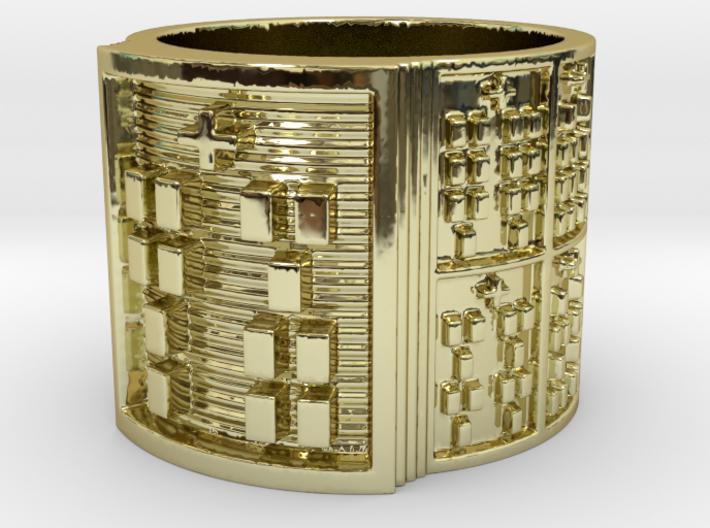 IKAJUANI Ring Size 11-13 3d printed
