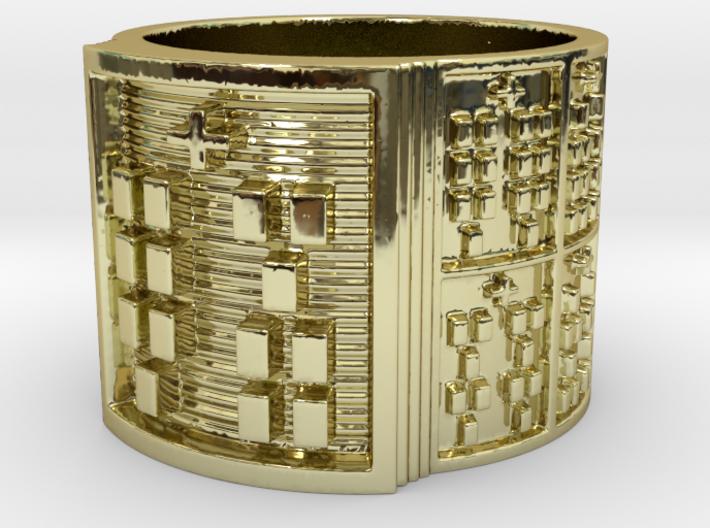 IKAKANA Ring Size 14 3d printed