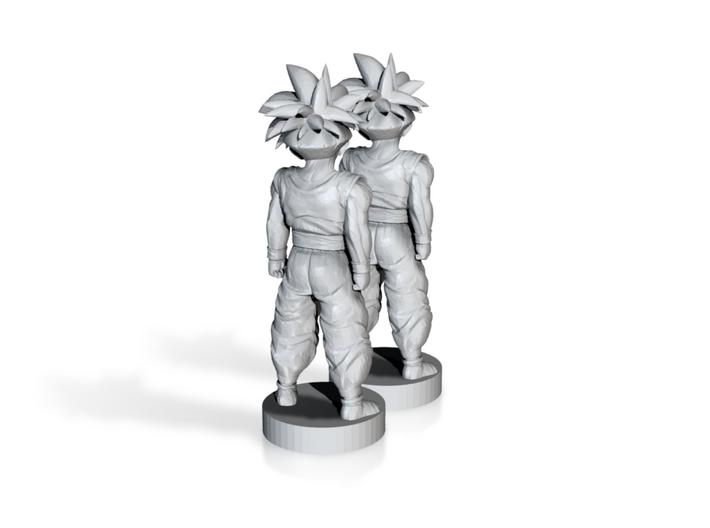 Son Goku dragon ball (2x) 3d printed