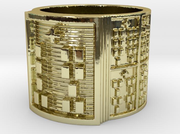 OTRUPONOGUNDA Ring Size 11-13 3d printed