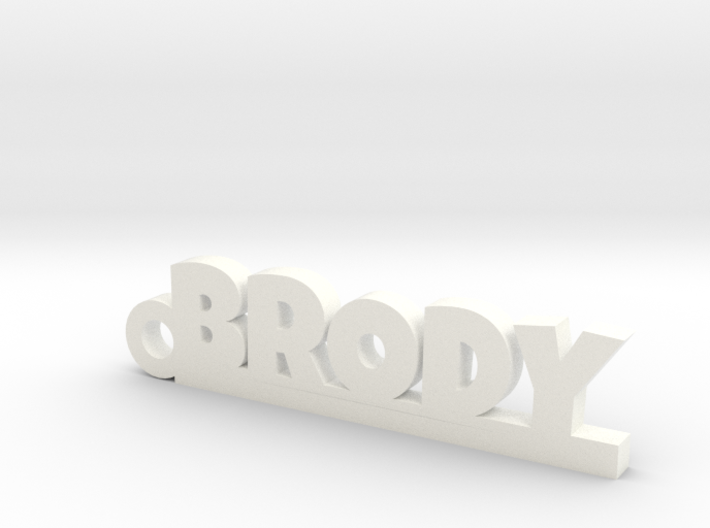 BRODY Keychain Lucky 3d printed