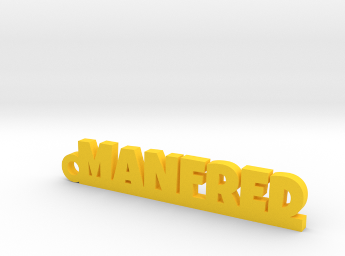 MANFRED Keychain Lucky 3d printed