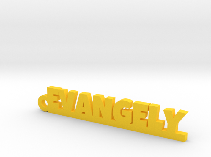 EVANGELY Keychain Lucky 3d printed