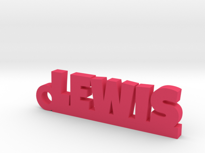 LEWIS Keychain Lucky 3d printed