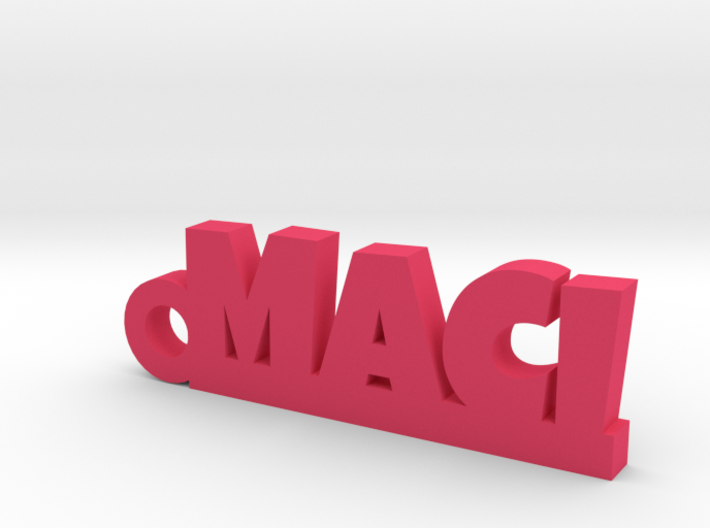 MACI Keychain Lucky 3d printed