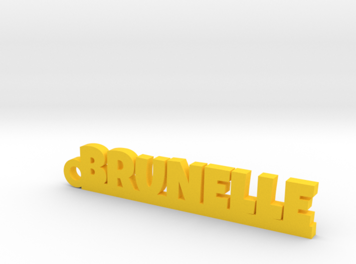BRUNELLE Keychain Lucky 3d printed