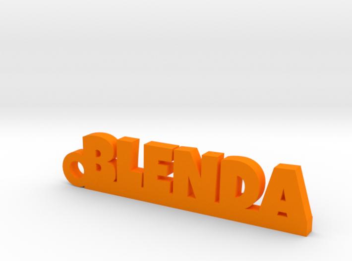 BLENDA Keychain Lucky 3d printed