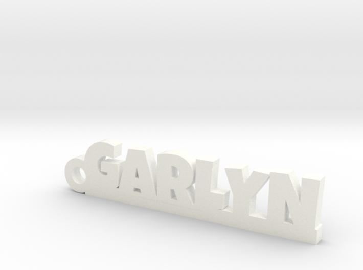 GARLYN Keychain Lucky 3d printed