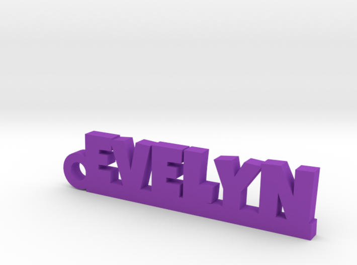 EVELYN Keychain Lucky 3d printed