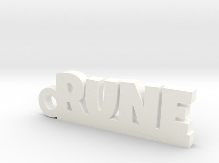 RUNE Keychain Lucky 3d printed