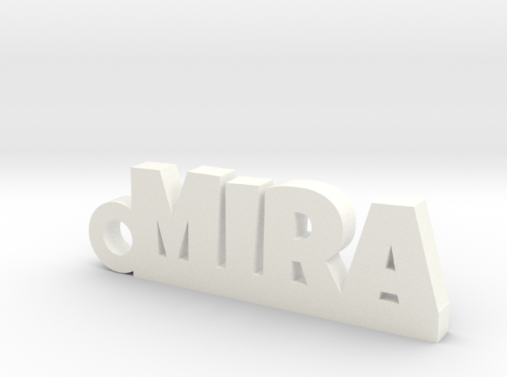 MIRA Keychain Lucky 3d printed