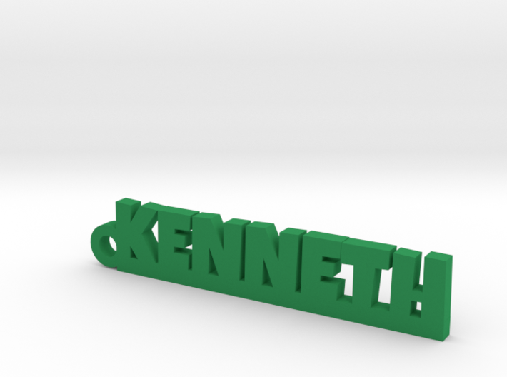 KENNETH Keychain Lucky 3d printed