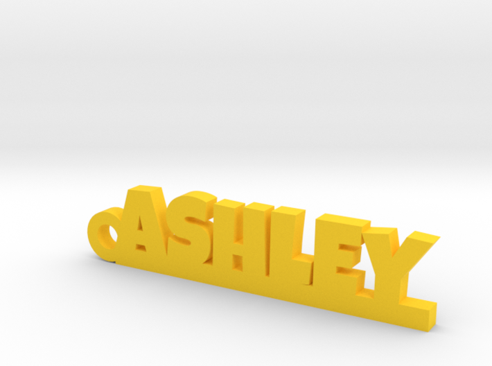 ASHLEY Keychain Lucky 3d printed