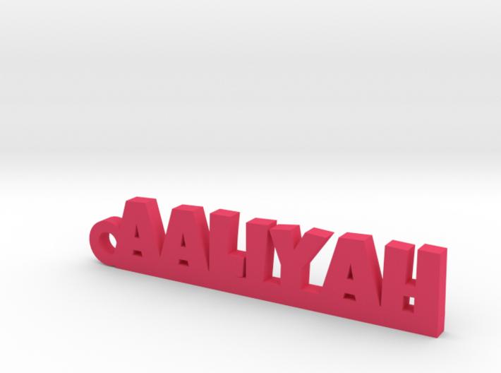 AALIYAH Keychain Lucky 3d printed