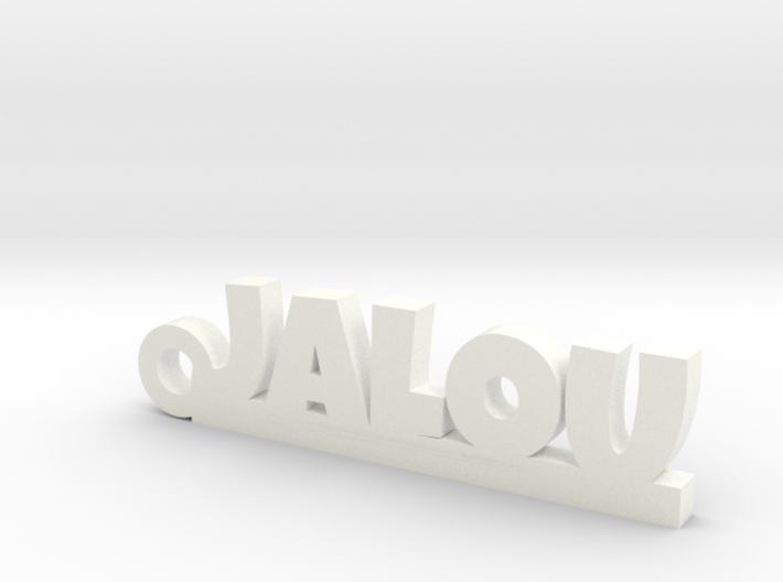 JALOU Keychain Lucky 3d printed