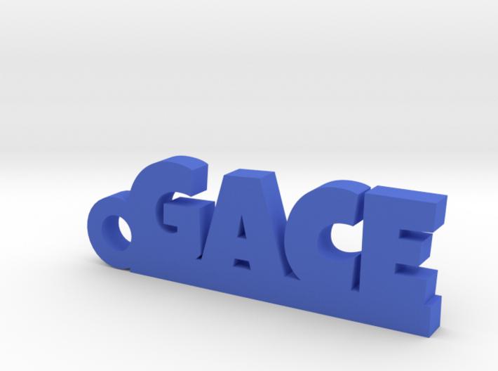 GACE Keychain Lucky 3d printed