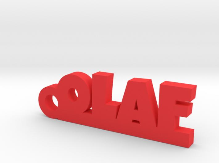 OLAF Keychain Lucky 3d printed