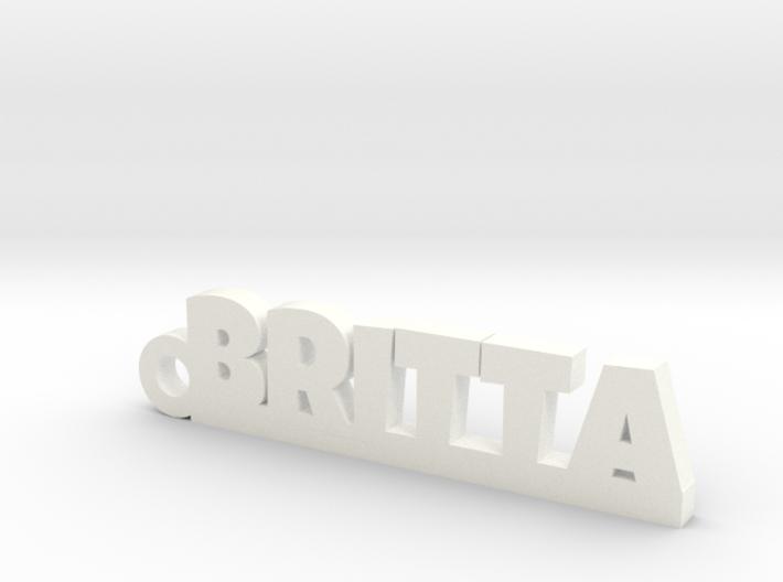 BRITTA Keychain Lucky 3d printed