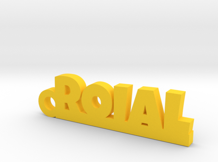 ROIAL Keychain Lucky 3d printed