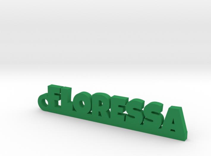 FLORESSA Keychain Lucky 3d printed