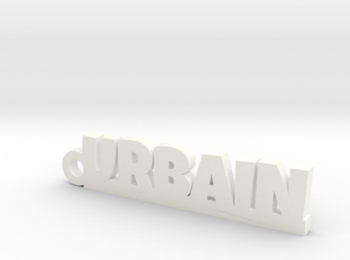 URBAIN Keychain Lucky 3d printed