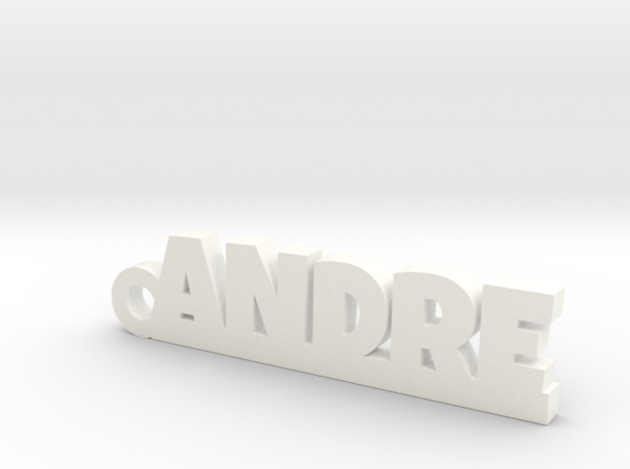 ANDRE Keychain Lucky 3d printed