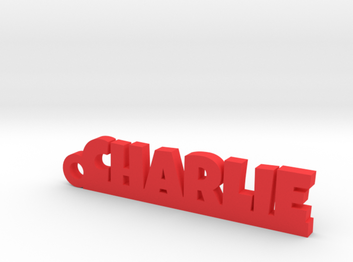 CHARLIE Keychain Lucky 3d printed