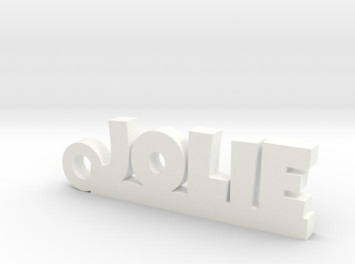 JOLIE Keychain Lucky 3d printed