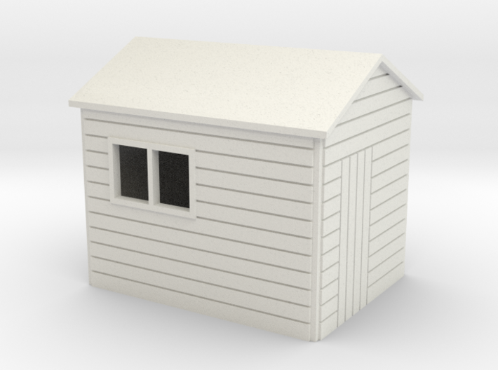 Garden Shed 8x6 ft 7mm scale 3d printed