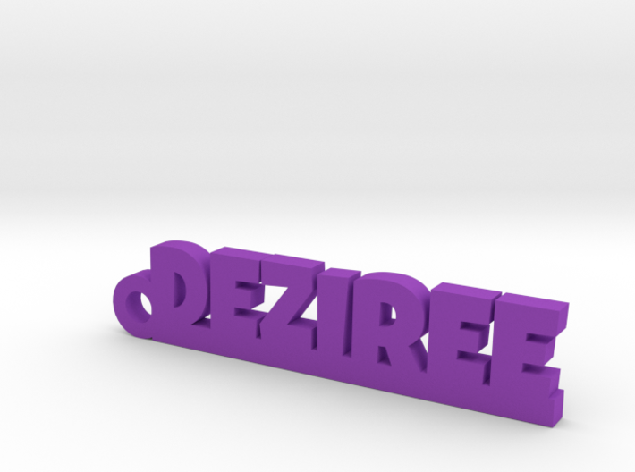 DEZIREE Keychain Lucky 3d printed