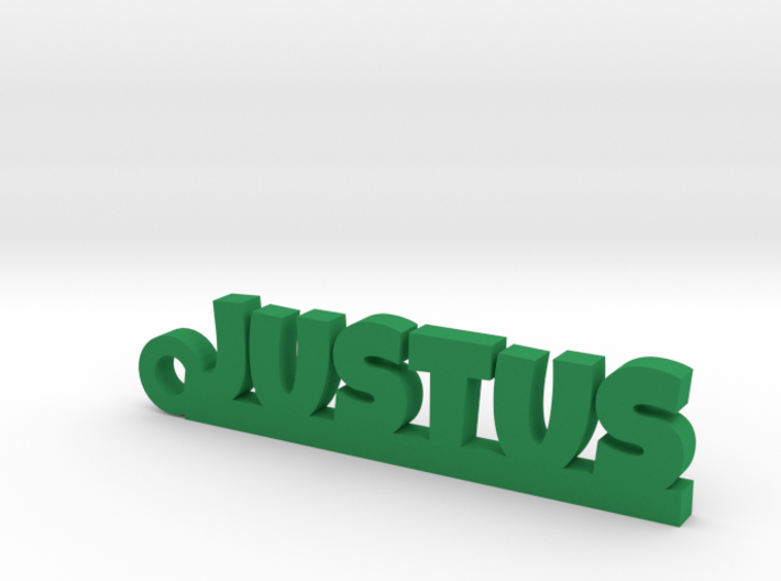 JUSTUS Keychain Lucky 3d printed