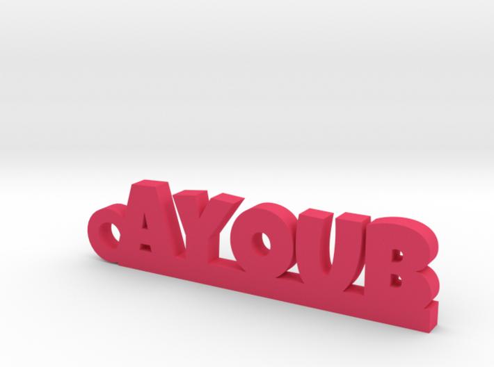 AYOUB Keychain Lucky 3d printed