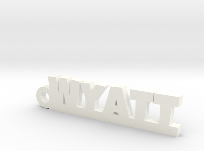 WYATT Keychain Lucky 3d printed