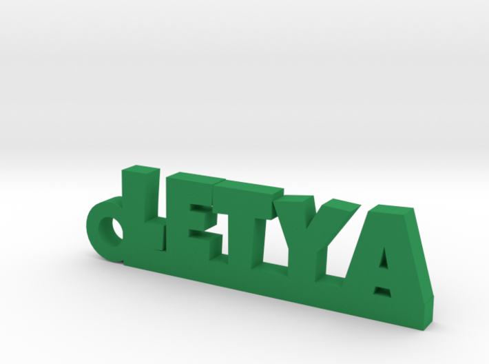 LETYA Keychain Lucky 3d printed