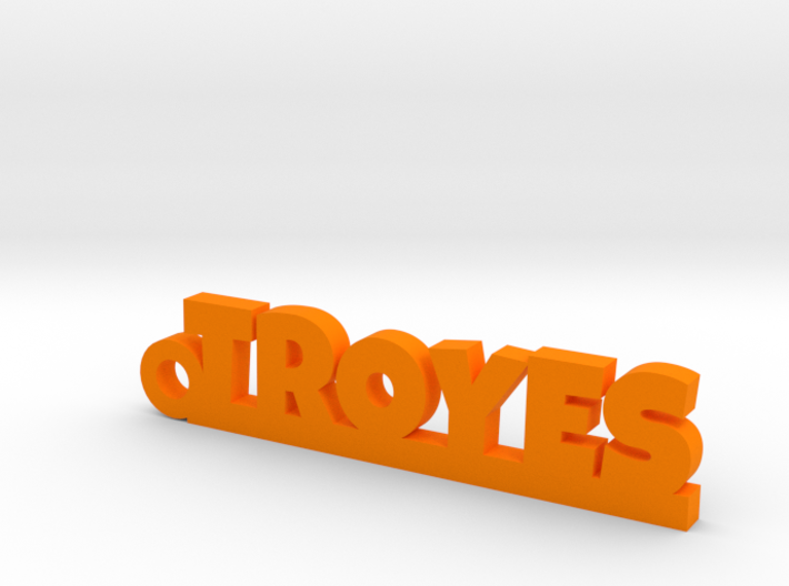 TROYES Keychain Lucky 3d printed