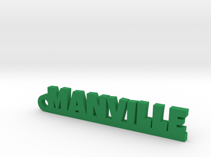 MANVILLE Keychain Lucky 3d printed