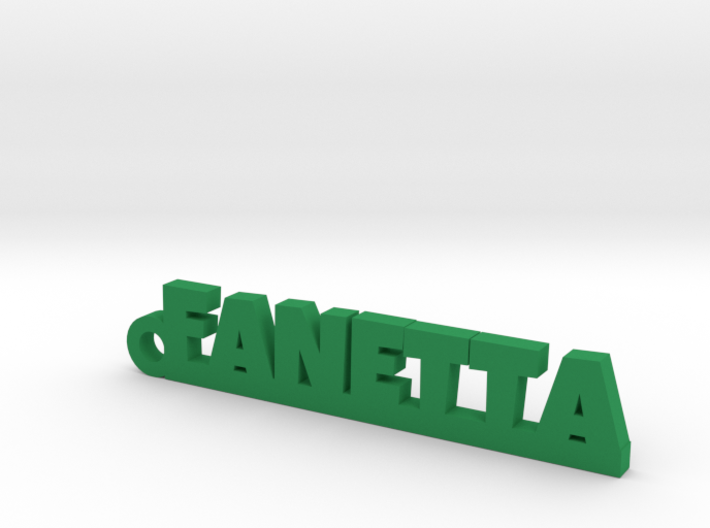 FANETTA Keychain Lucky 3d printed