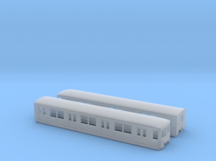 BR 477 Mod TT [2x body] 3d printed
